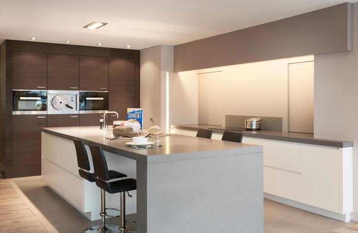Fotogalerij modern keukens uytterhoeven interieur for Interieur keukens