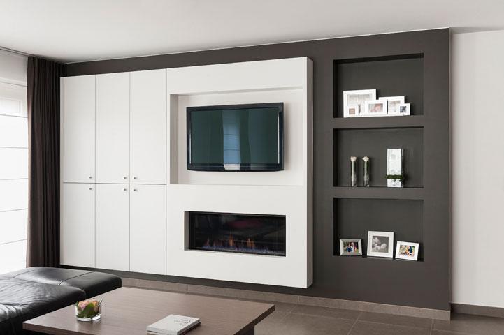 Nieuwbouw Keuken Badkamer : Inrichting nieuwbouw appartement Keukens Uytterhoeven interieur
