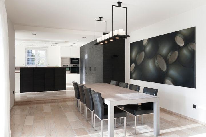Landelijke Villa Inrichting : Hedendaagse inrichting villa keukens uytterhoeven interieur